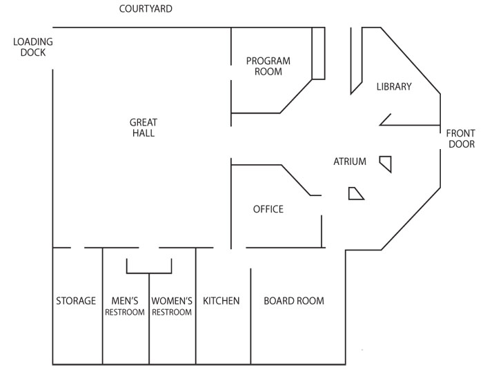 General room layout